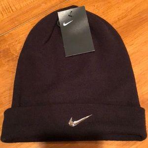 Nike adult unisex knit cap (black)